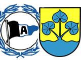 Logo Arminia und Wappen Enger