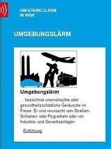 Umgebungslärm NRW