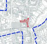 Kartenausschnitt für den Bereich Bielefelder Straße / Bachstraße / Burgstraße.